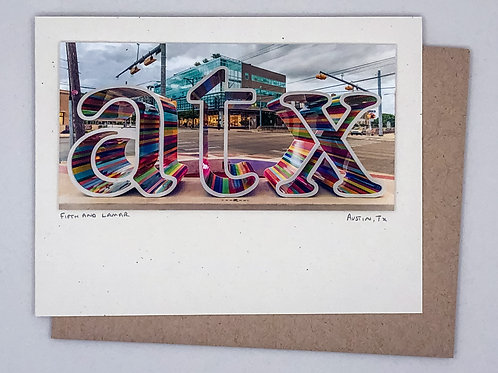Slow Fuse Photography ATX Greeting Card
