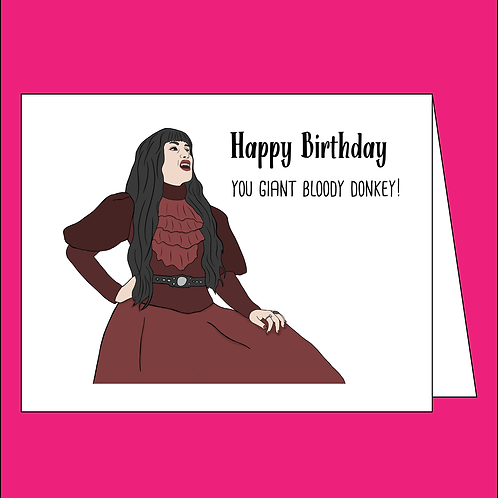 Comrade What We Do in the Shadows Birthday Card