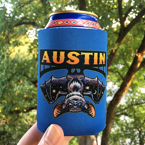 ChetArt Austin Bat Can Cooler