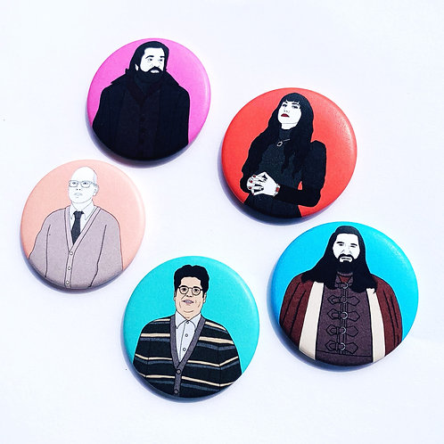 Comrade What We Do in the Shadows Magnets