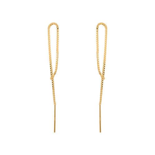 Limbo Link Jacket Earrings