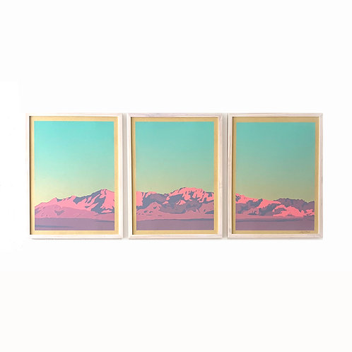 Landry McMeans Paradise Mountain Triptych