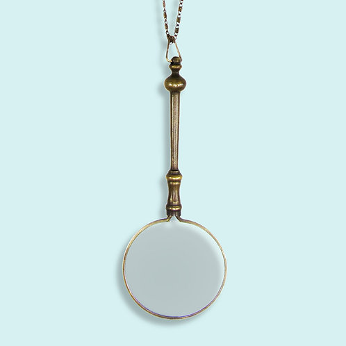 Ornamental Things Magnifying Glass Necklace