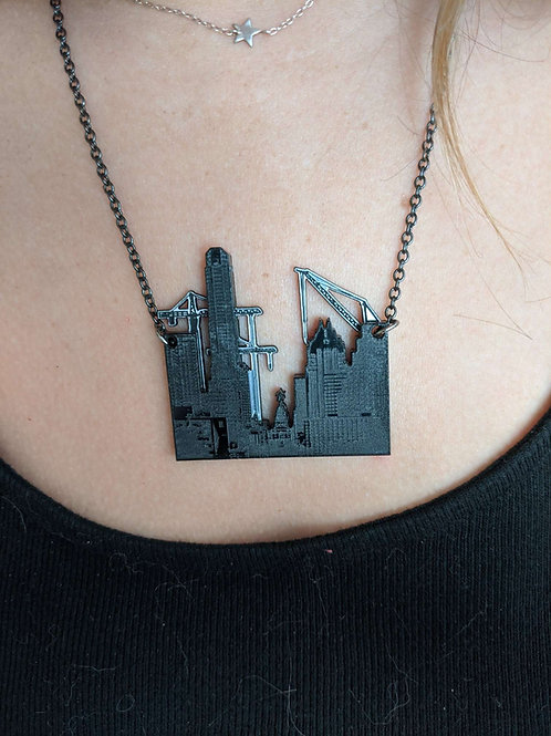 Vinca Austin Skyline Necklace