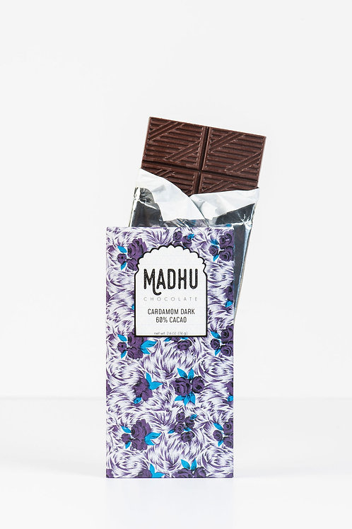 Madhu Chocolate Cardamom Dark