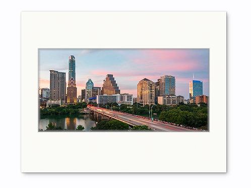 Slow Fuse Photography Congress Avenue Bridge Print, Austin