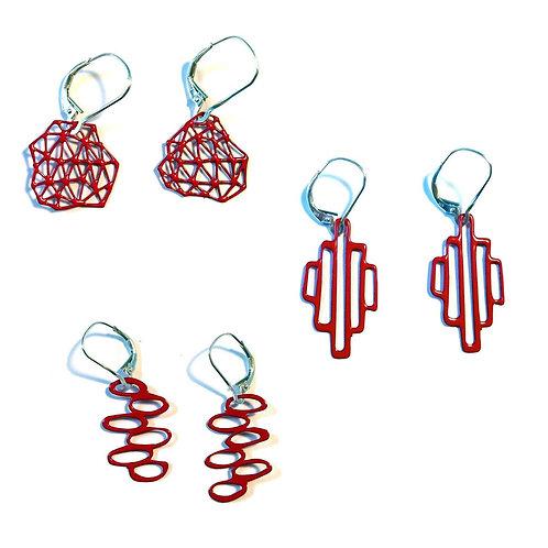 Pop-Out Jewelry Mini Mod Earrings