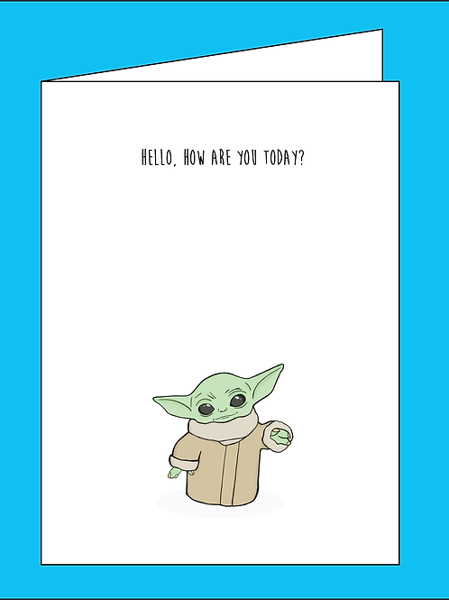 """Comrade """"The Child"""" Greeting Card"""