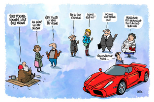 Qui se sent riche en France ?