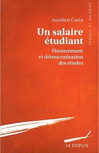 Un salaire étudiant Aurélien Casta