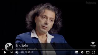 Éric Sadin : l'asservissement par l'Intelligence Artificielle ?