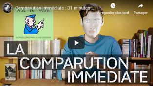 Comparution immédiate : 31 minutes et au trou [vidéo]