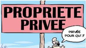 Confiner la propriété pour un statut de l'habitant, pour le droit à la ville