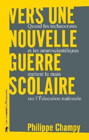 Philippe Champy : Vers une nouvelle guerre scolaire