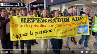 RIP Aéroports de Paris : une bataille centrale pour les classes populaires