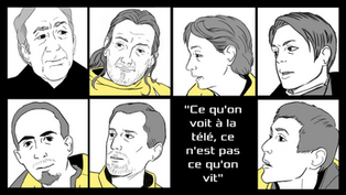 Paroles de Gilets Jaunes en bande dessinée