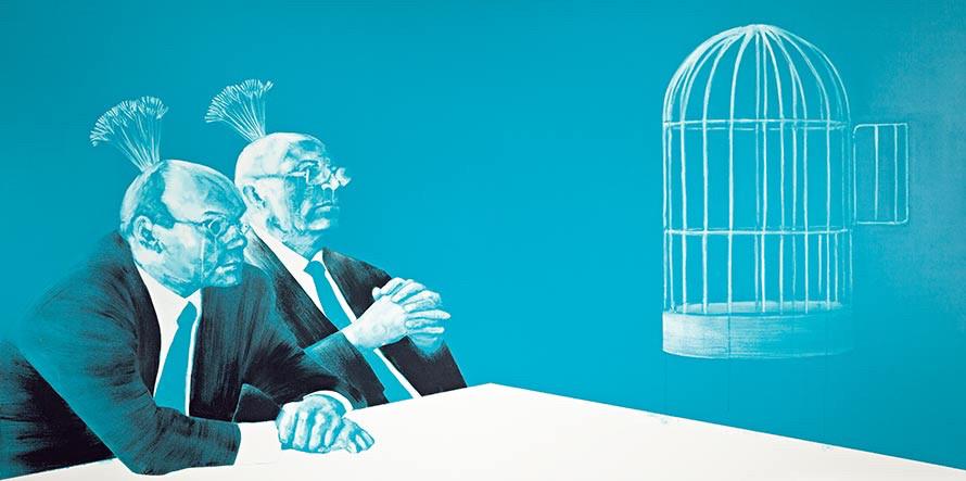 """Cage"" - Sabien Witteman"