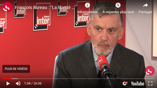 """François Sureau : """"La liberté a déjà disparu"""""""