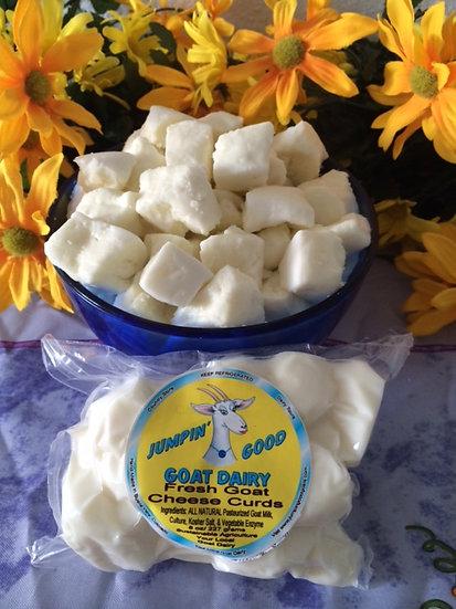 Fresh Goat Cheese Curds