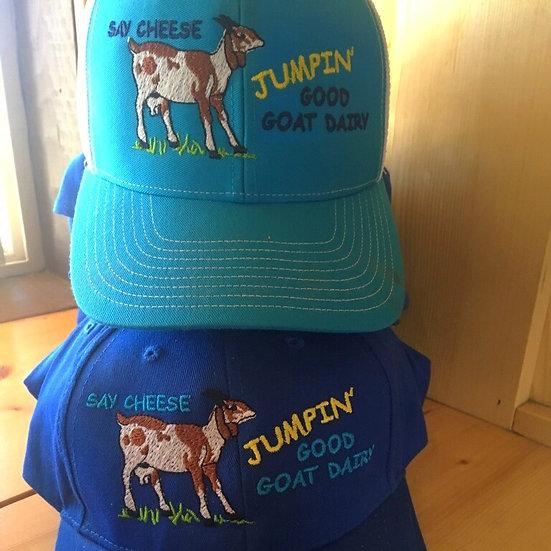 Jumpin' Good Goat Dairy Cap