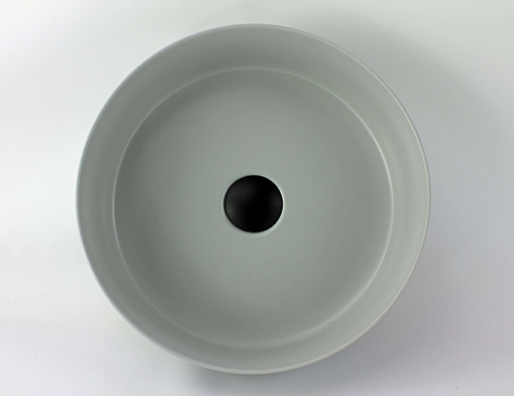 New Super Thin Wall Matte Ceramic Basins available in choice of White, Black or Light Grey...