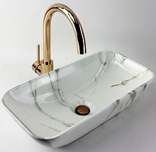 Bathroom Glass Marble Stone Basins Derrimut Zigell