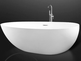 STONE FREESTANDING MATTE BATH TUB