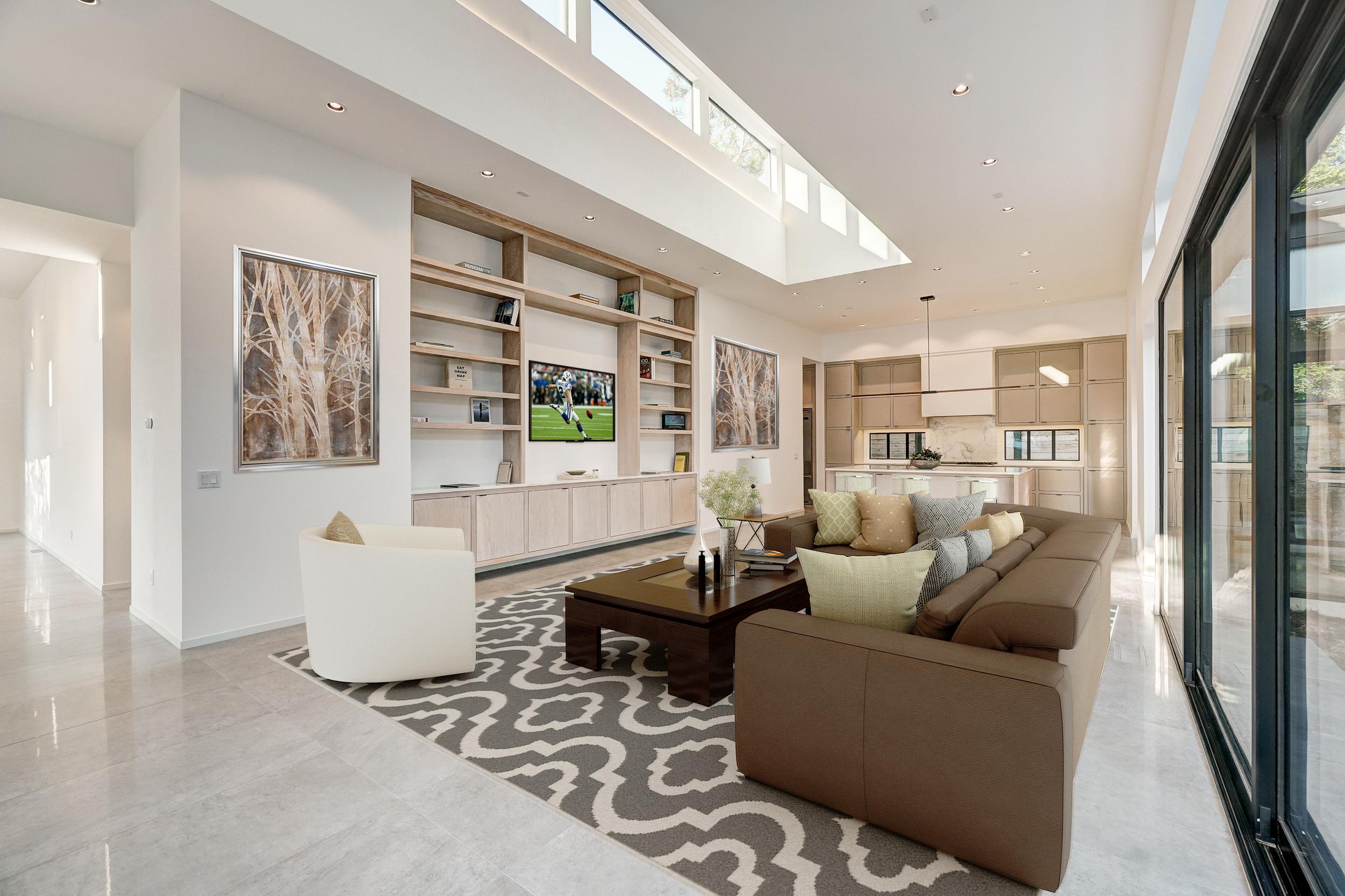 1120 Belford Kitchen Living Area