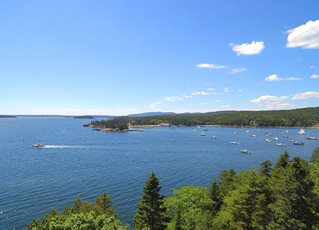 A Rockefeller's Maine View