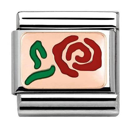 Nomination mineli rose charm