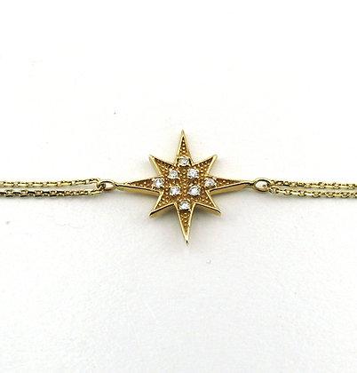 Marie Claire yıldız bileklik