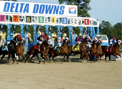 Attention Horse Players Delta Downs Is Off To A Roaring