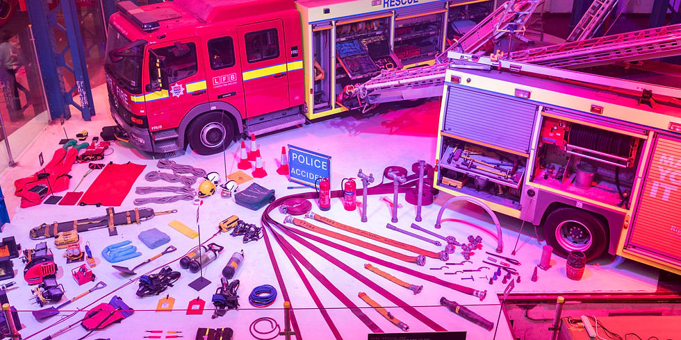 London Fire Brigade Pop-up Museum!