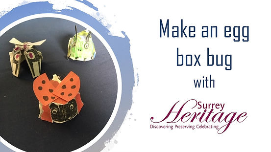 Make a recycled egg box bug - simple how to guide.