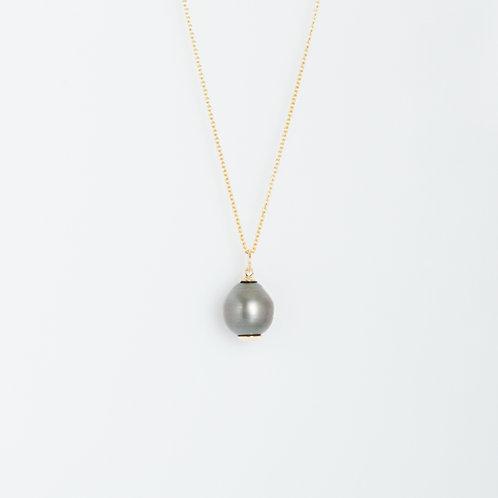Perla de Tahití 14K