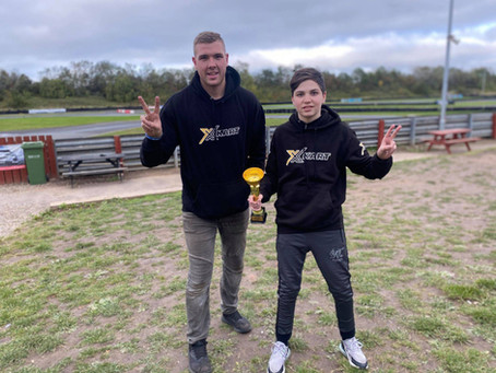 Podium debut for x-kart at teeside