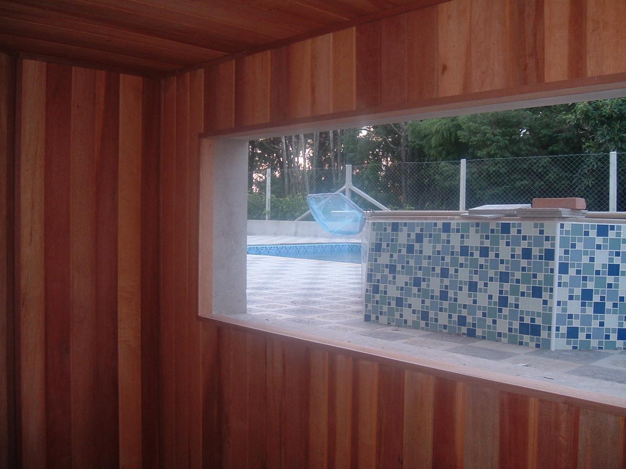 Sauna com Vidro