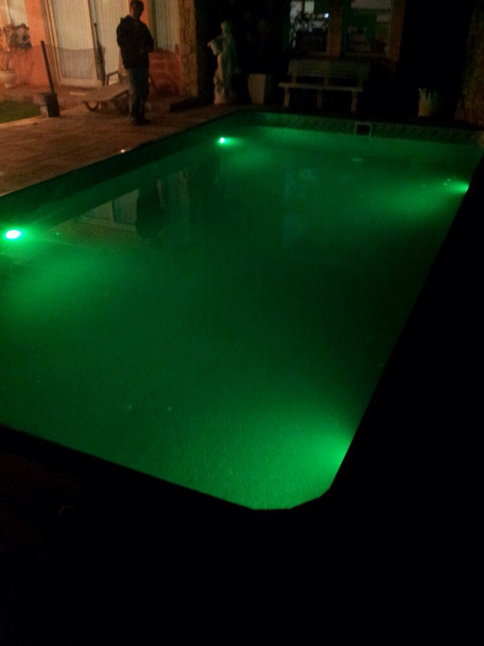 Iluminação Led (verde)