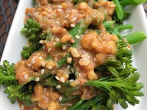 Broccoli Asian Peanut Salad