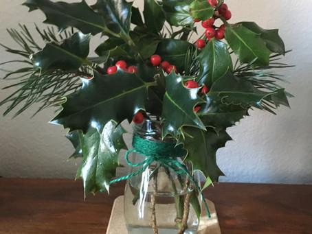 Foraged Christmas Decoration