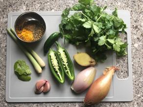 Easy Thai Green Curry Paste