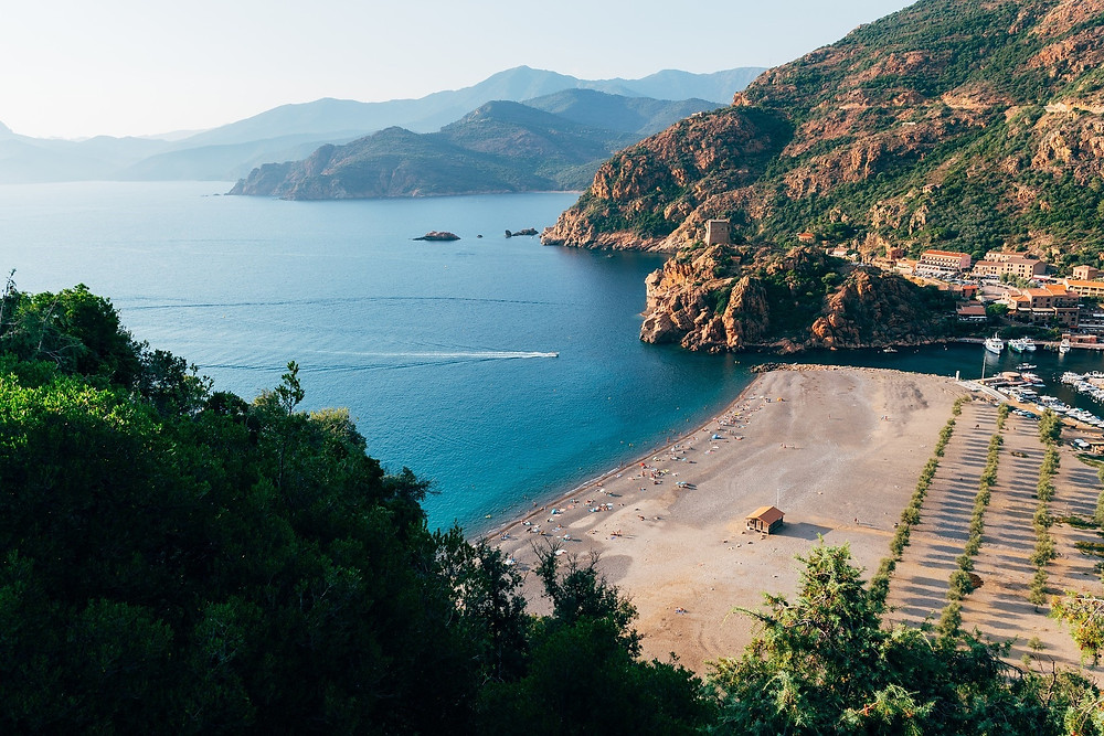 Where to visit in June - Corsica.