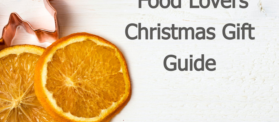 Christmas Gift Guide for Food Lovers