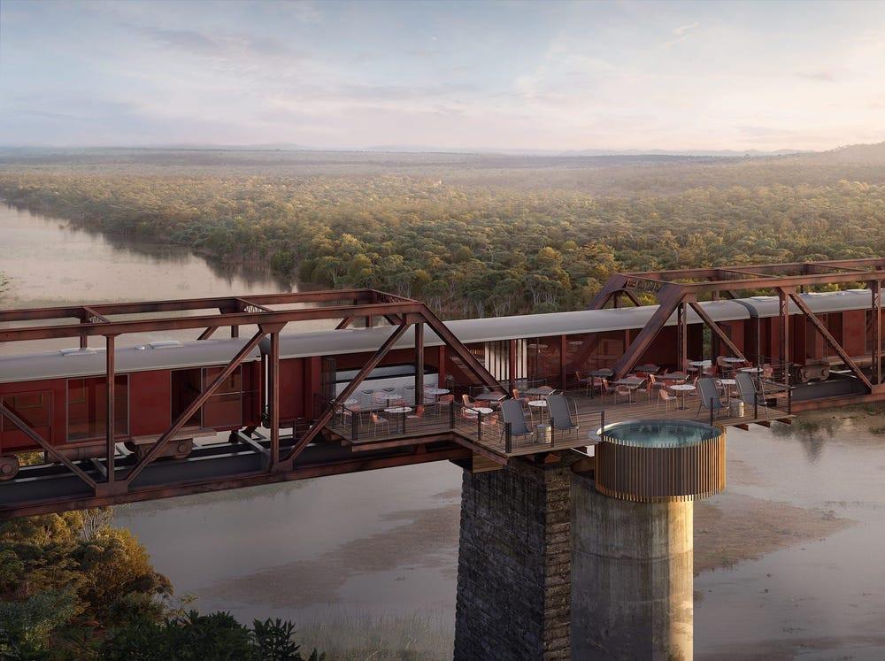 Kruger Shalati Train Hotel new hotel opening 2021