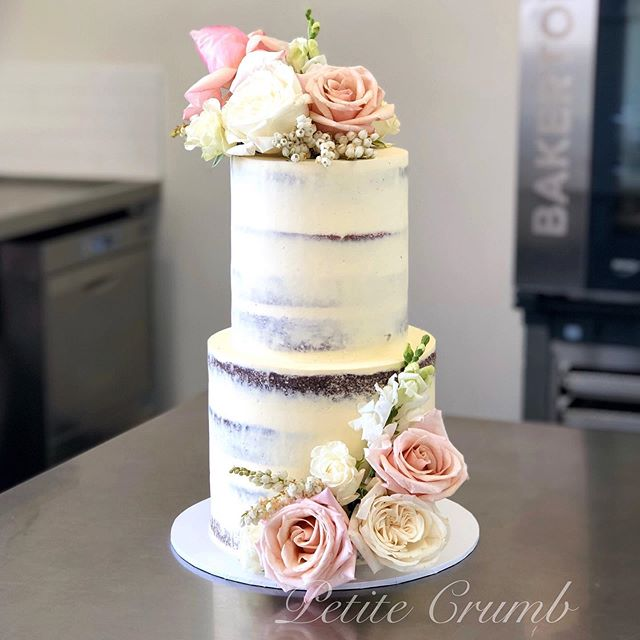 One of the last wedding cakes for the ye