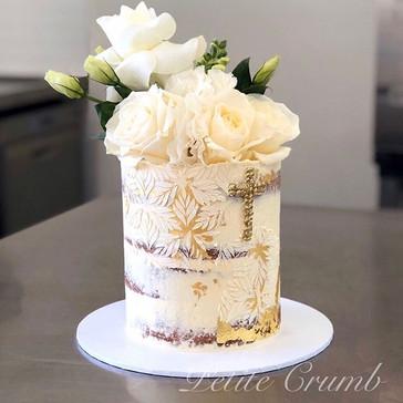 Baptism cake for Rachel and Nicholas 🙏_
