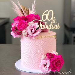 Sixty and fabulous in pink