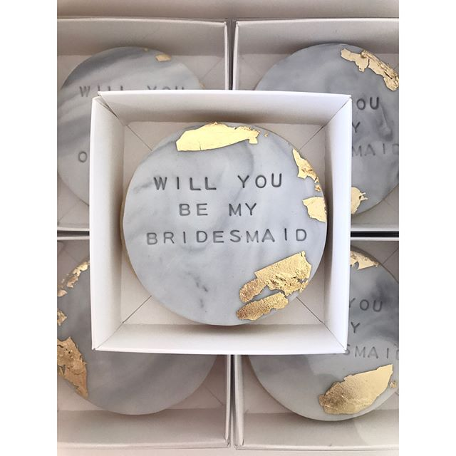 Recently engaged_ Pop _the question_ to your nearest and dearest with these personalised sugar cooki
