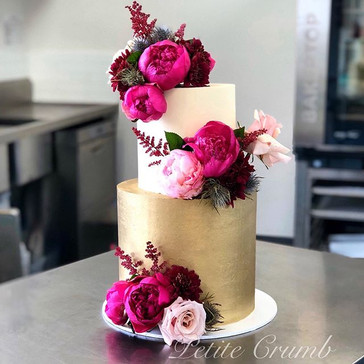 The very last wedding cake for the year