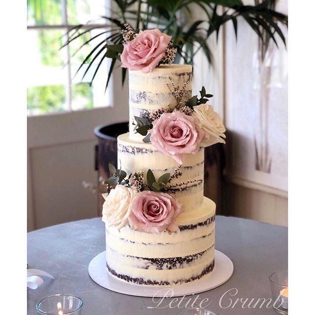 Wedding cake #2 of 3 delivered to _hills
